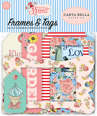 Carta Bella Frames & Tags Die-Cuts - Practically Perfect