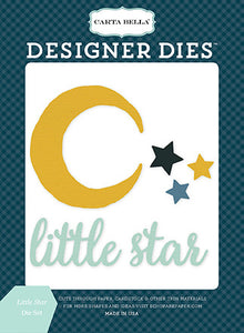 Carta Bella Designer Dies - Rock-a-Bye Baby - Boy - Little Star Set