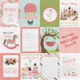 Carta Bella Cut-Outs - Rock-a-Bye Baby - Girl - 3x4 Journaling Cards