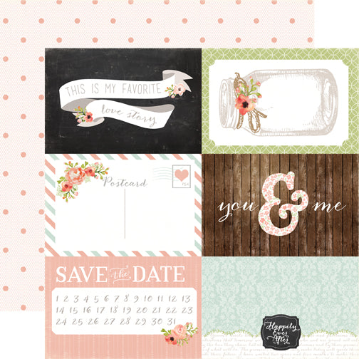 Carta Bella Cut-Outs - Rustic Elegance - 4x6 Journaling Cards
