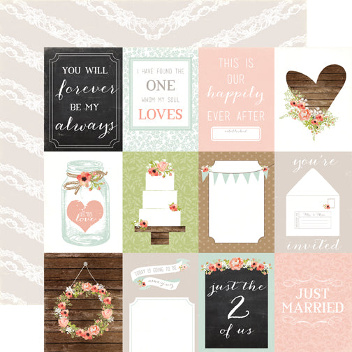 Carta Bella Cut-Outs - Rustic Elegance - 3x4 Journaling Cards