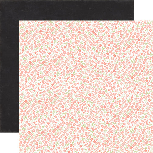 Carta Bella Papers - Rustic Elegance - Small Floral - 2 Sheets