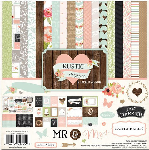 Carta Bella Collection Kit - Rustic Elegance