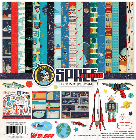 Carta Bella Collection Kit - Space Academy