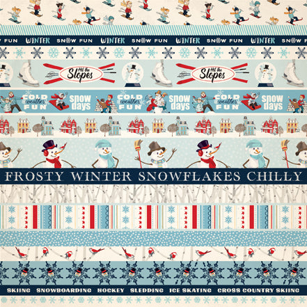 Carta Bella Cut-Outs - Snow Fun - Border Strips