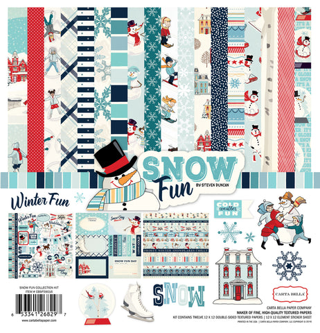 Carta Bella Collection Kit - Snow Fun