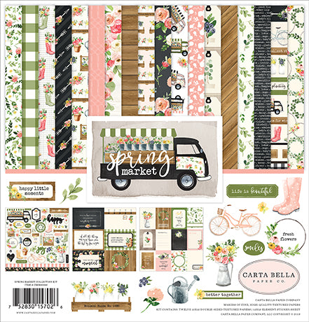 Carta Bella Collection Kit - Spring Market