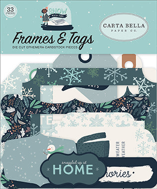 Carta Bella Frames & Tags Die-Cuts - Snow Much Fun