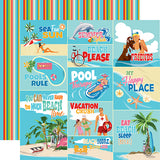 Carta Bella Cut-Outs - Summer Splash - Scene Journaling Cards
