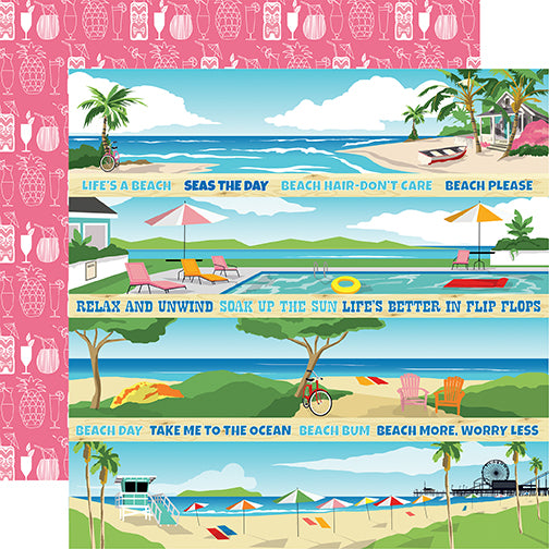 Carta Bella Cut-Outs - Summer Splash - Border Strips