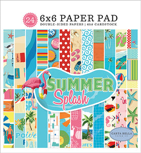 Carta Bella 6x6 Pad - Summer Splash