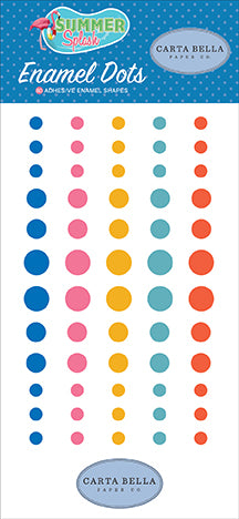 Carta Bella Enamel Dots - Summer Splash