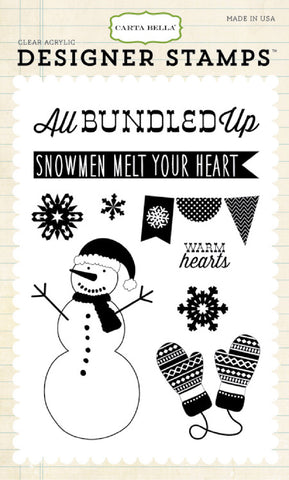 Carta Bella Stamp Set - All Bundled Up