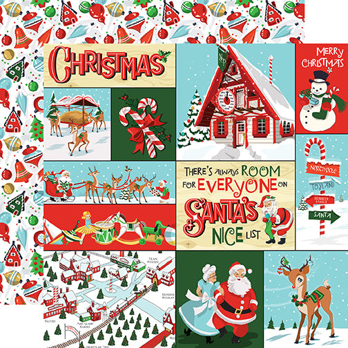 Carta Bella Cut-Outs - Santa's Workshop - Multi Journaling Cards