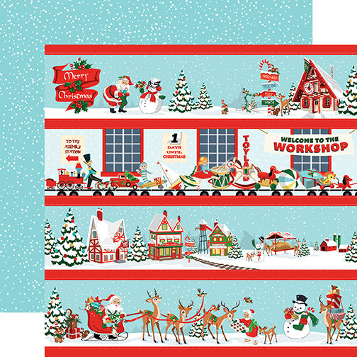 Carta Bella Cut-Outs - Santa's Workshop - Border Strips