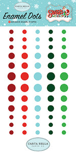 Carta Bella Enamel Dots - Santa's Workshop