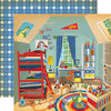 Carta Bella Papers - Toy Box - Magic Toy Room - 2 Sheets