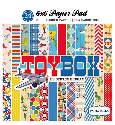 Carta Bella 6x6 Pad - Toy Box