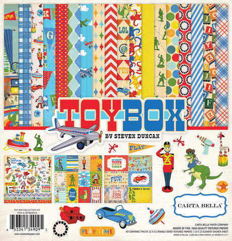 Carta Bella Collection Kit - Toybox
