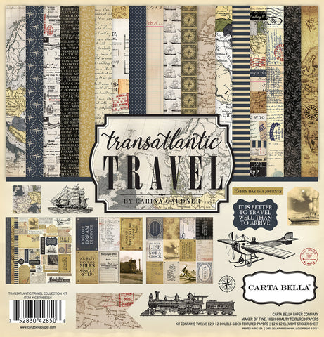 Carta Bella Collection Kit - Transatlantic Travel