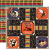 Carta Bella Papers - Trick or Treat - Bewitching Game - 2 Sheets