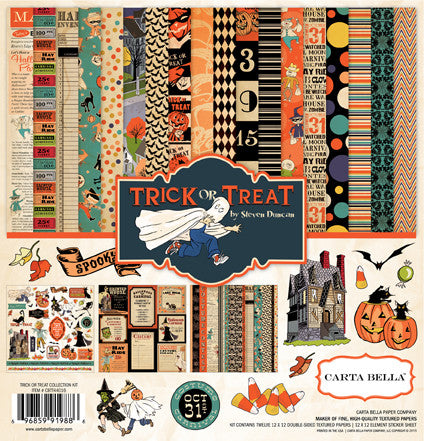 Carta Bella Collection Kit - Trick or Treat