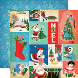 Carta Bella Cut-Outs - A Very Merry Christmas - Christmas Festivities Journaling Cards