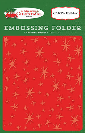Carta Bella Embossing Folder - A Very Merry Christmas - Christmas Magic
