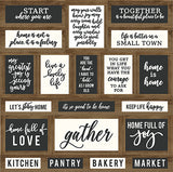 Carta Bella Cut-Outs - Welcome Home - Keep Life Happy