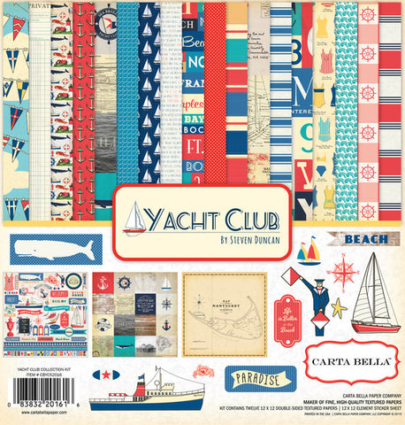 Carta Bella Collection Kit - Yacht Club