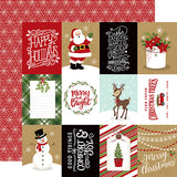 Echo Park Cut-Outs - Celebrate Christmas - 3x4 Journaling Cards