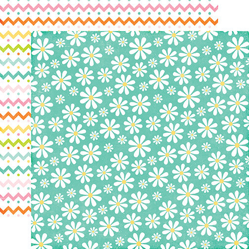 Echo Park Papers - Celebrate Easter - Oopsy Daisy - 2 Sheets