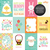 Echo Park Cut-Outs - Celebrate Easter - 3x4 Journaling Cards