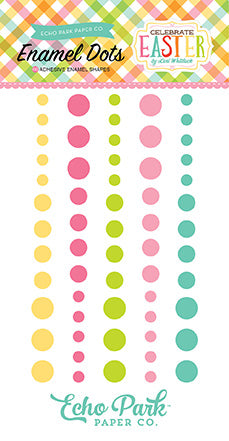 Echo Park Enamel Dots - Celebrate Easter