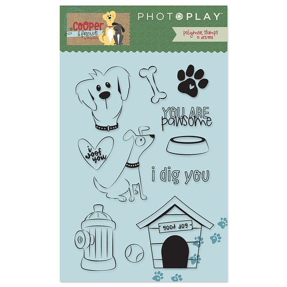 Photo Play Clear Stamp Set - Cooper & Friends