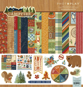 Photo Play Paper Collection Kit - Campfire