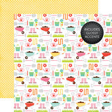 Echo Park Papers - Celebrate Easter - Garden Tools - 2 Sheets