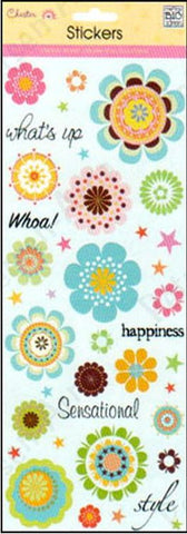Me and My Big Ideas Glitter Stickers - Florette