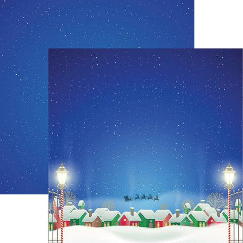 Reminisce Papers - Christmas Town - Christmas Town - 2 Sheets