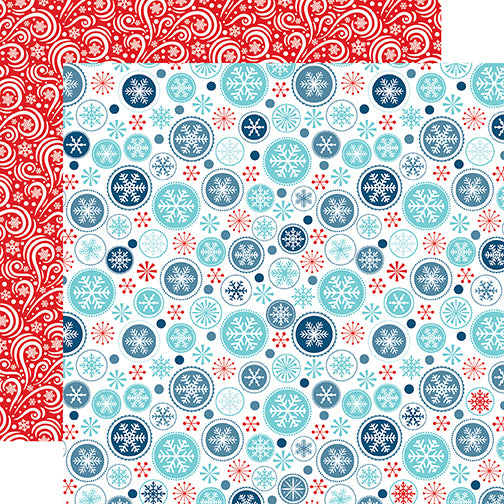 Echo Park Papers - Celebrate Winter - Winter Wonderland - 2 Sheets