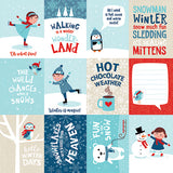 Echo Park Cut-Outs - Celebrate Winter - 3x4 Journaling Cards