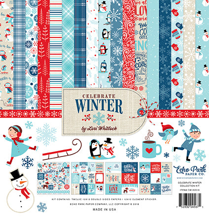 Echo Park Collection Kit - Celebrate Winter