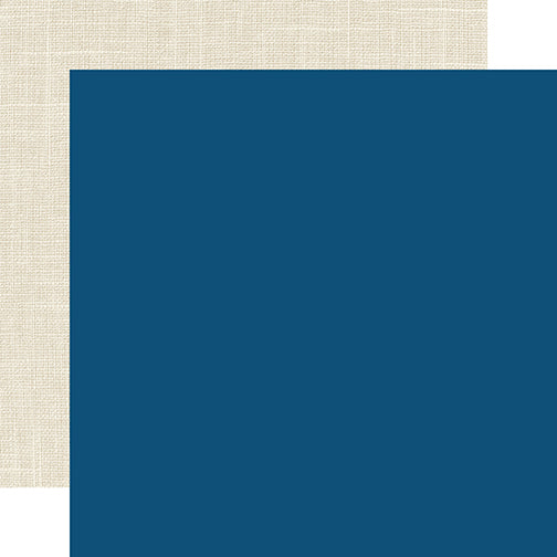 Echo Park Papers - Celebrate Winter - Dark Blue/Linen - 2 Sheets