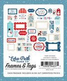 Echo Park Frames & Tags Die-Cuts - Celebrate Winter
