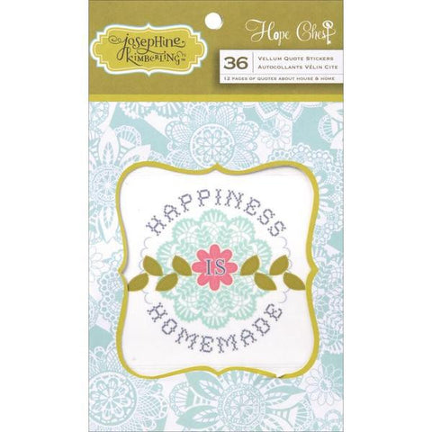 Anna Griffin Vellum Quotes Pad - Hope Chest