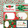 Echo Park Cut-Outs - Deck the Halls - 4x6 Journaling Cards
