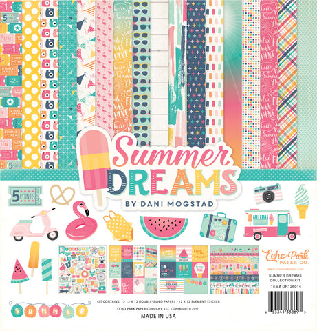 Echo Park Collection Kit - Summer Dreams