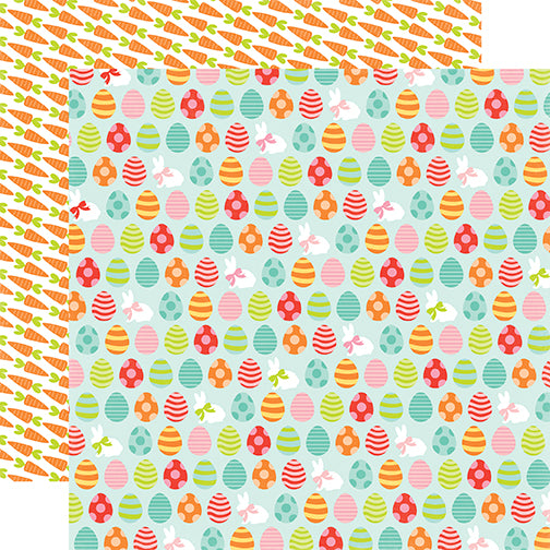 Echo Park Papers - Easter - Egg Hunt - 2 Sheets