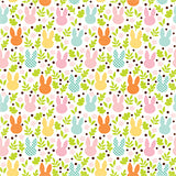 Echo Park Papers - Easter - Field of Cottontails - 2 Sheets