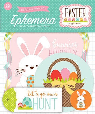 Echo Park Ephemera Die-Cuts - Easter